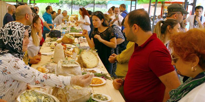 Anadolu peynirleri Kars'ta 'buluştu'