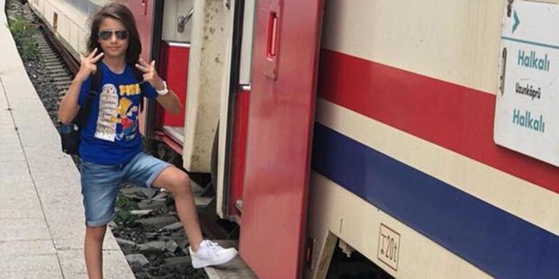 Tren kazasında küçük Arda hayatını kaybetti