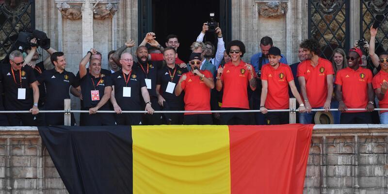 Belçika Milli Takımı evine döndü