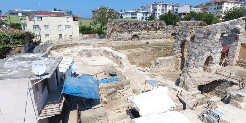 Sinop'ta 'Balatlar yapı topluluğu' kazısı 9 yıldır devam ediyor