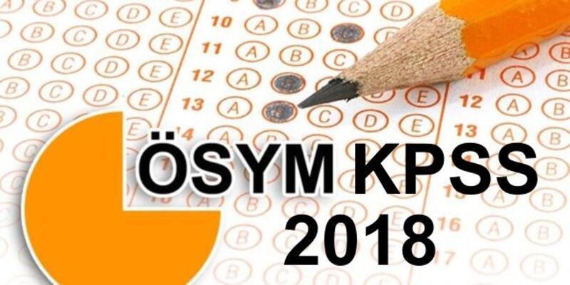 2018 KPSS önlisans sonuçları sorgulama işlemleri ÖSYM'de!