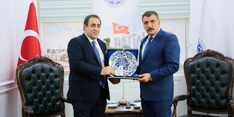 Gümüş'ten, Gürkan'a ziyaret