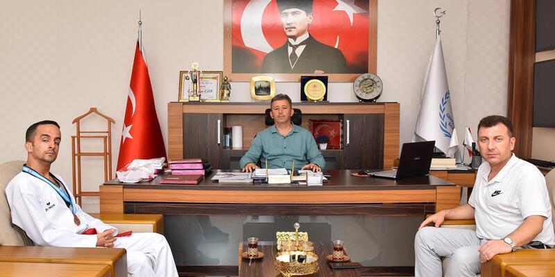 İşitme engelli taekwondocudan Türkiye derecesi