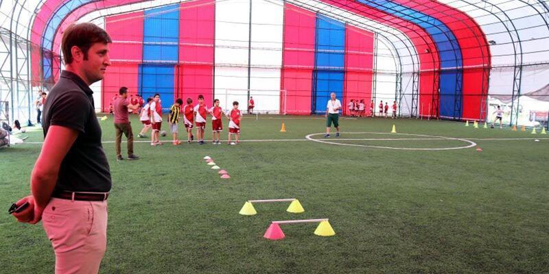 Çerkezköy'de 'Yaz Spor Okulları'nın ikinci dönemi başladı