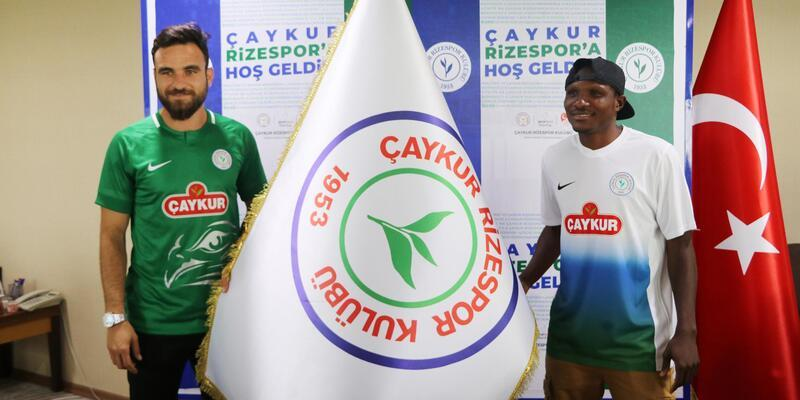 Çaykur Rizespor'da yeni transferler takıma katıldı