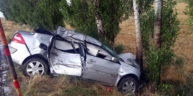 Kız istemeye giderken kaza yaptılar: 2 ölü, 3 yaralı