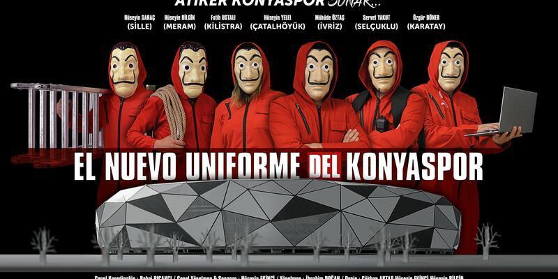 Konyaspor'dan klipli forma tanıtımı