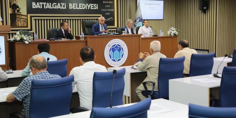 Battalgazi'de Meclis Toplantısı