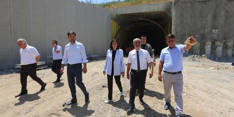 Mevlana Tüneli'nde asfalt çalışması başladı