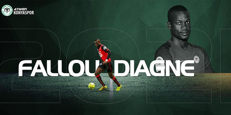 Konyaspor Fallou Diagne'yi kadrosuna kattı