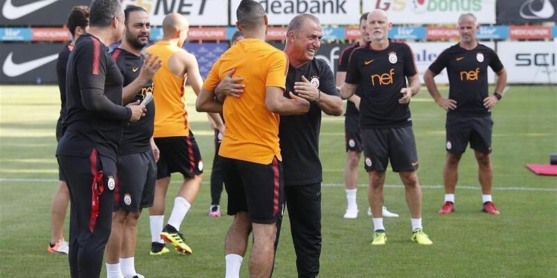 Galatasaray Akhisarspor'a hazırlanıyor