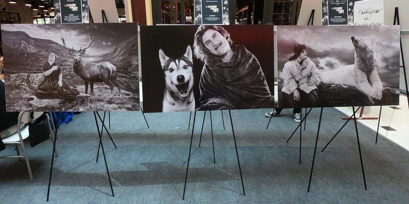 'Hayvanlar ve Biz' sergisi Bodrum'da açıldı