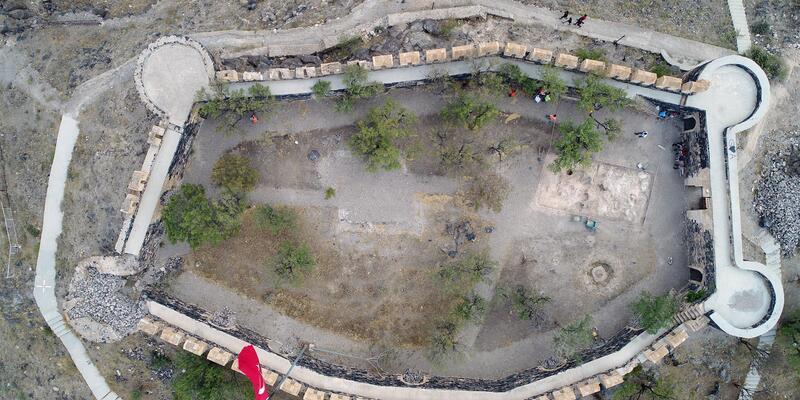 Nevşehir Kalesi'ni kurtarma kazısı başladı