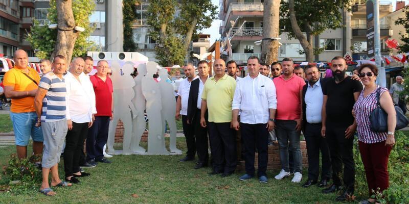 Yalova'da 'Roman Soykırım Anıtı' törenle açıldı