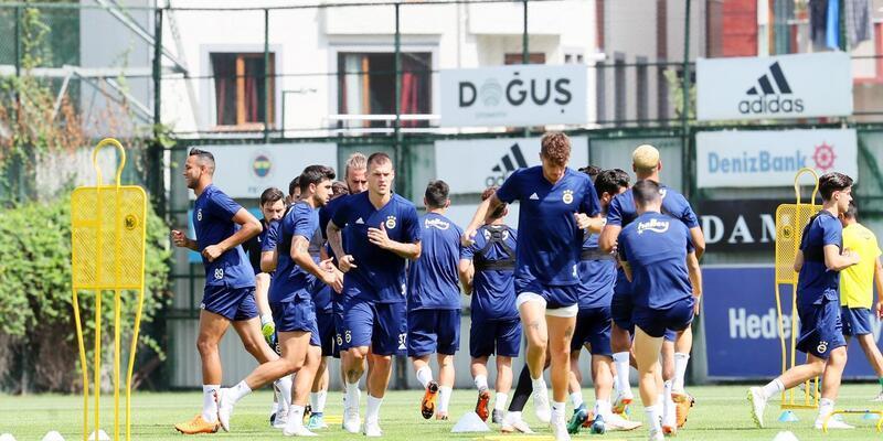 Fenerbahçe Benfica maçı hazırlıklarını sürdürüyor