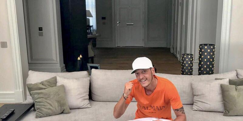 Mesut Özil kendi takımını kuracağını açıkladı