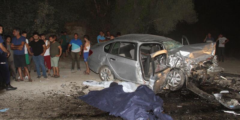 Seydikemer'de kaza: 2 ölü, 4 yaralı