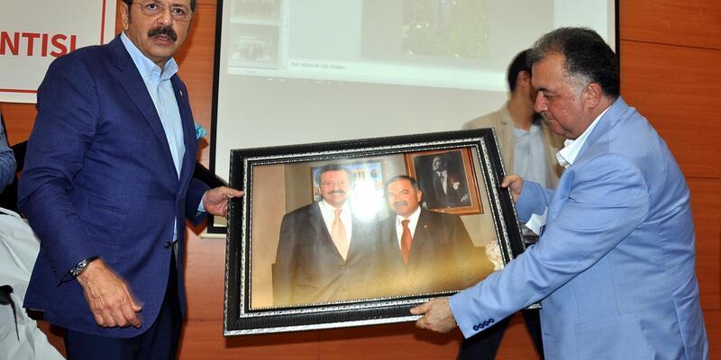TOBB Başkanı Hisarcıklıoğlu, Osmaniye'de