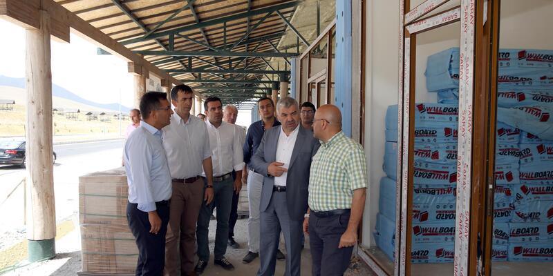 Erciyes'e yeni iş yerleri yapılıyor
