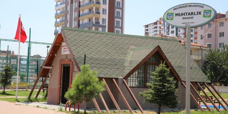 Melikgazi'de 2 mahalleye yeni muhtarlık binası