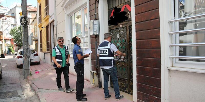 Kocaeli'de günlük kiralanan evlere polis baskını