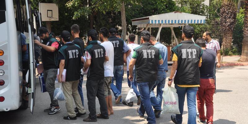 Osmaniye'de temmuz ayında 1215 kişi yakalandı, 104'ü tutuklandı