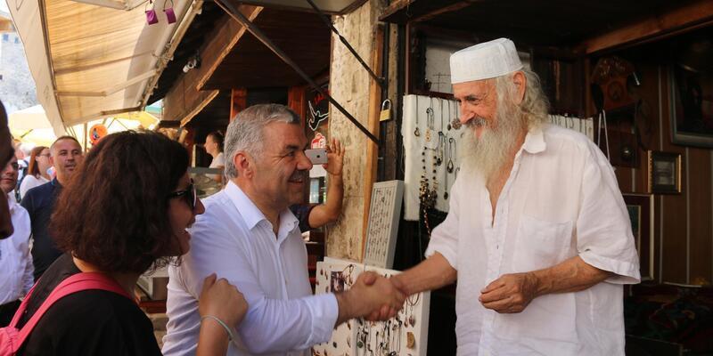 """Başkan Çelik, """" Gönül belediyeciliğini Mostar'a taşıdık"""""""