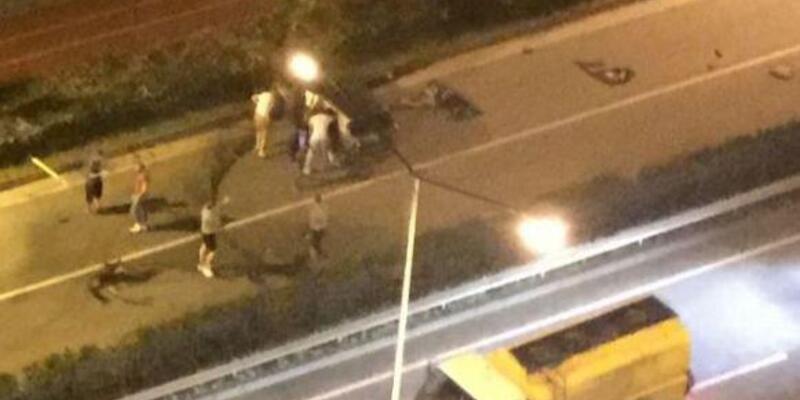Rize'de devrilen otomobilin sürücüsü öldü