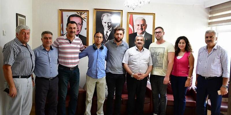 Avrupalı gönüllüler Tokat'ta misafir