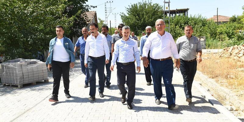 Başkan Çınar, çalışmalarını inceledi