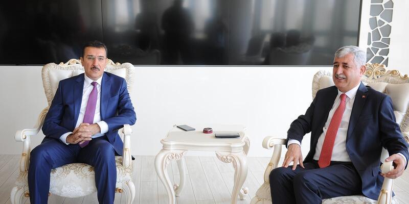 Tüfenkci'den, Başkan Polat'a ziyaret