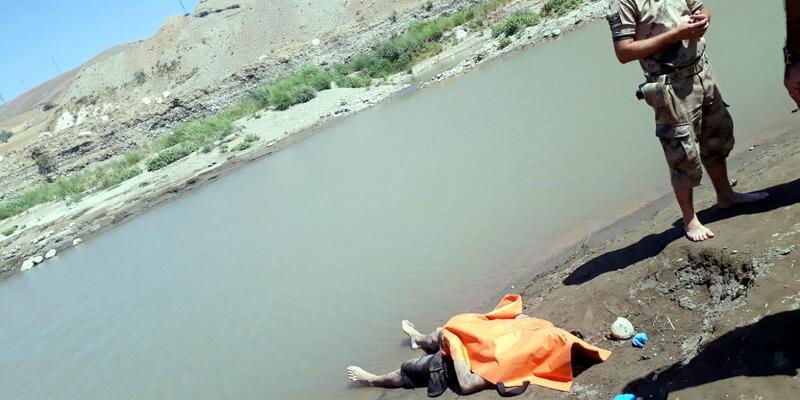 Siirt'te Kezer Çayı'nda erkek cesedi bulundu