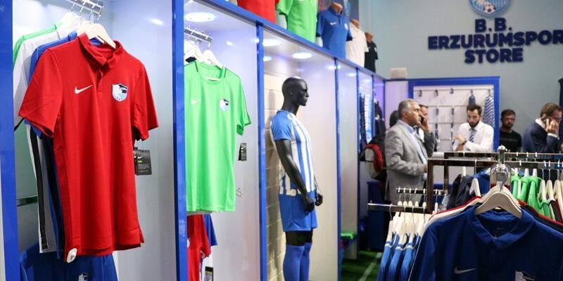 Erzurumspor Store açıldı