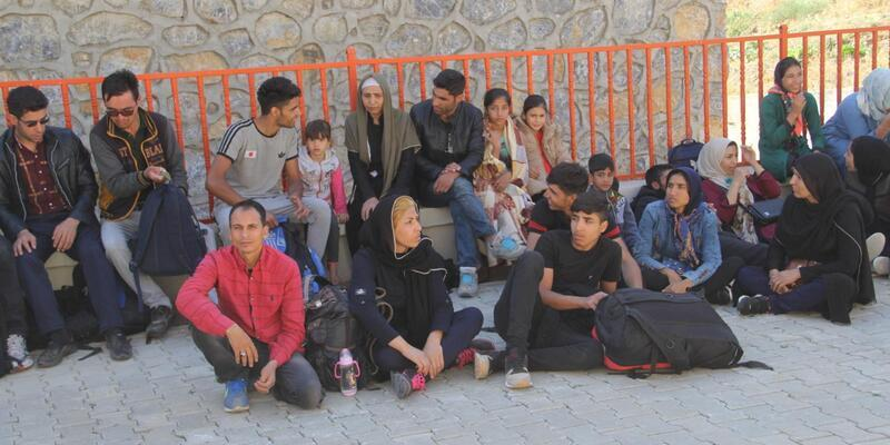 Van'da 43 kaçak göçmen yakalandı