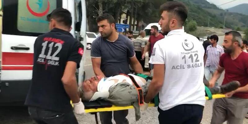 Andırın'da kaza: 3 yaralı