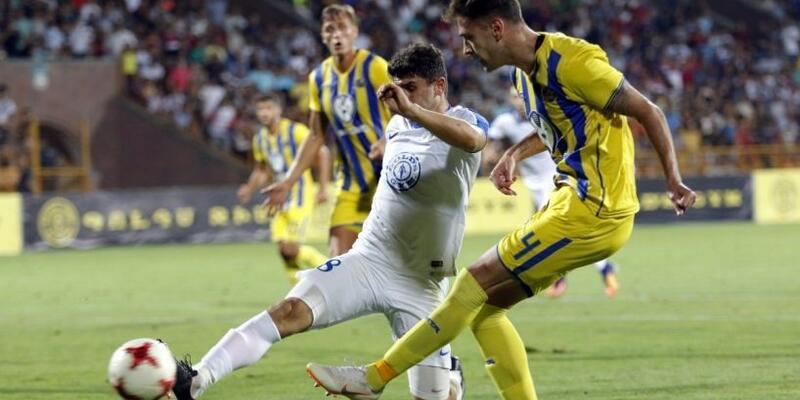 UEFA Avrupa Ligi: Pyunik 0-0 Maccabi Tel Aviv