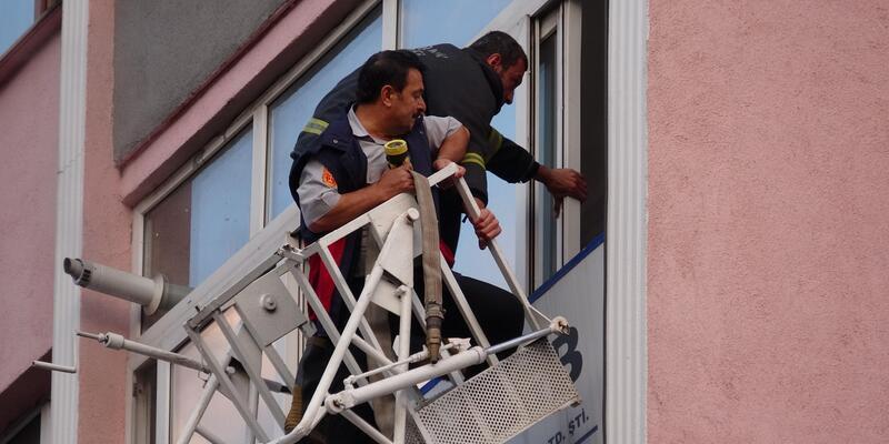 İş sağlığı ve güvenlik danışmanlığı merkezinde yangın