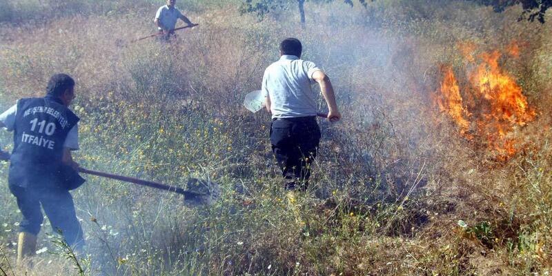 İtfaiye Müdürlüğü yetkileri, arazi yangınlarına karşı uyardı