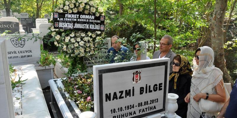 Beşiktaş'ta Nazmi Bilge anıldı