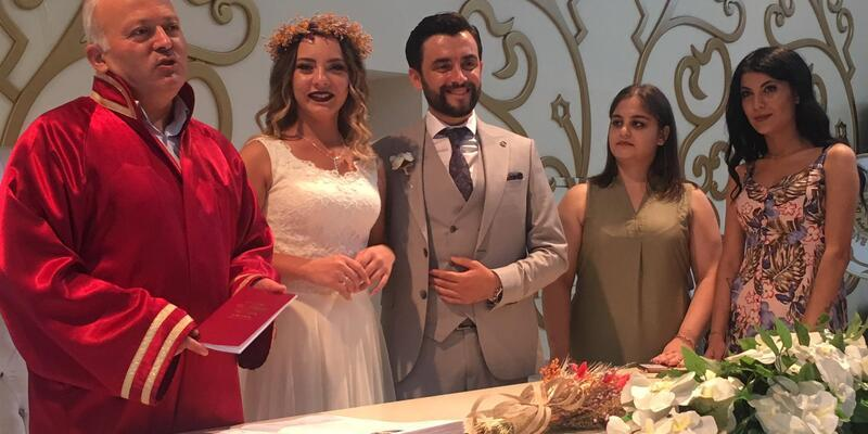 Kocaeli'de nikah salonlarında 08.08.2018 yoğunluğu