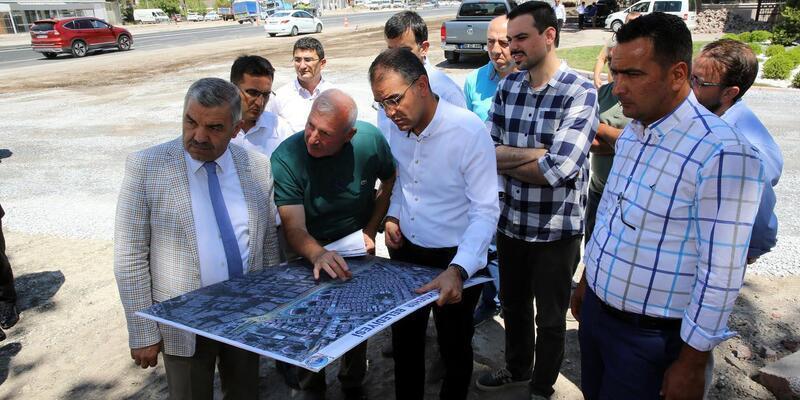 Başkan Çelik, Asri mezarlıkta incelemelerde bulundu