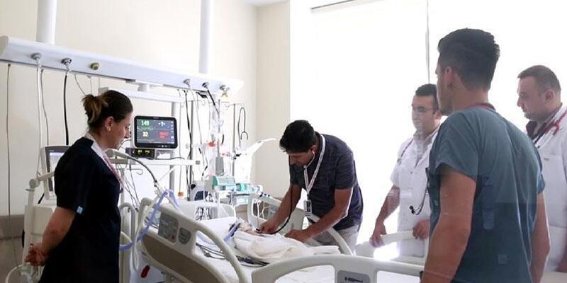 Şehir Hastanesinde ilk kez balon anjiyoplasti tedavisi gerçekleştirildi