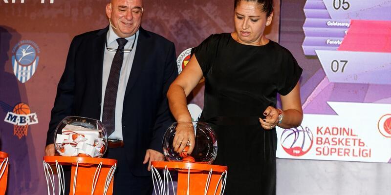 Kadınlar Basketbol Süper Ligi fikstürü çekildi