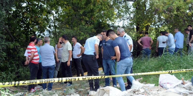 Yalova'da derede ceset bulundu
