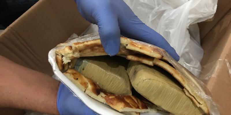 Van çöreklerinin içinden 26 kilo eroin çıktı
