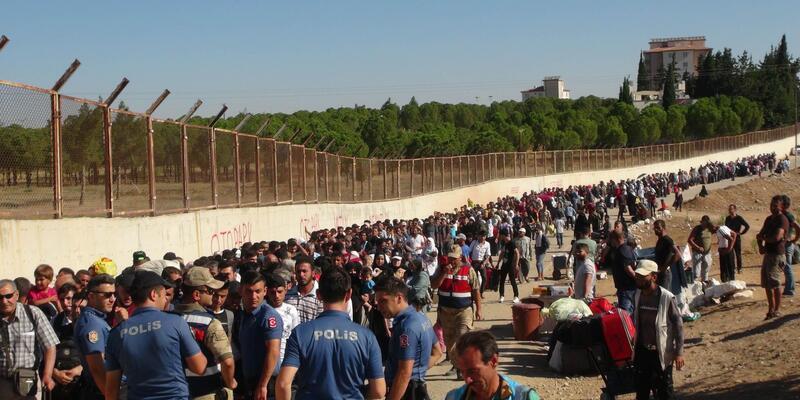 Suriyeli 13 bin sığınmacı bayram için ülkesine gitti