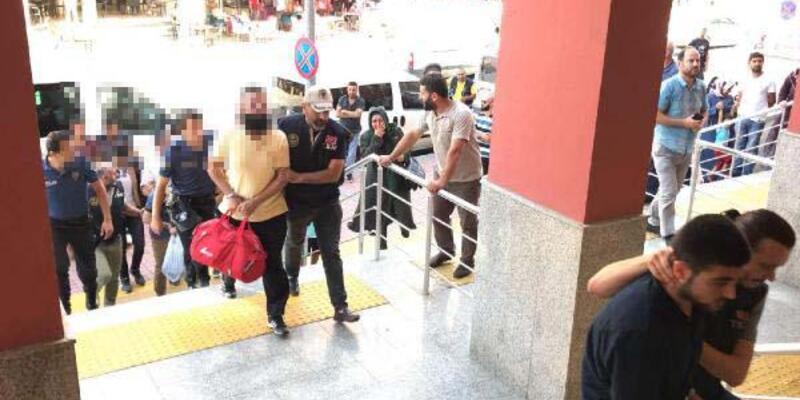 DEAŞ operasyonunda 16 şüpheli adliyeye sevk edildi