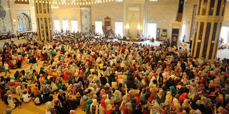 Yaz Kur'an Kursu için kapanış töreni