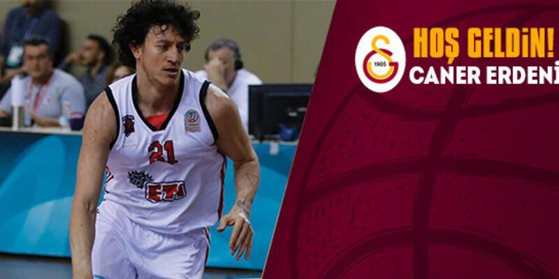 Galatasaray Caner Erdeniz'i kadrosuna kattı
