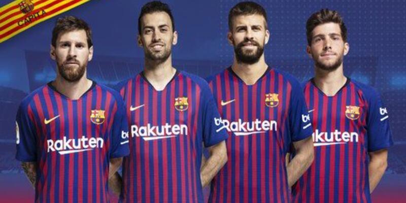Messi Barcelona'nın kaptanı oldu